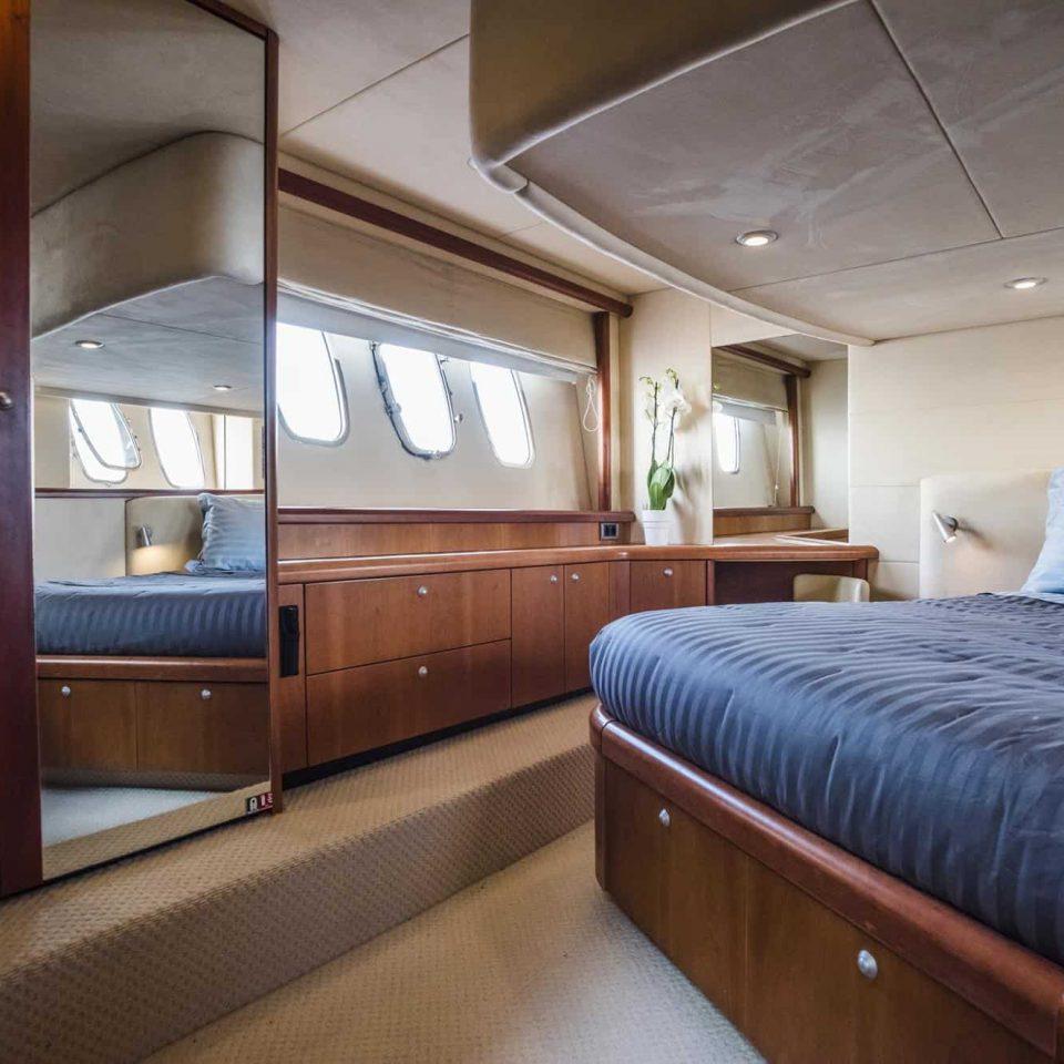 indor accommodation of mykonos yacht
