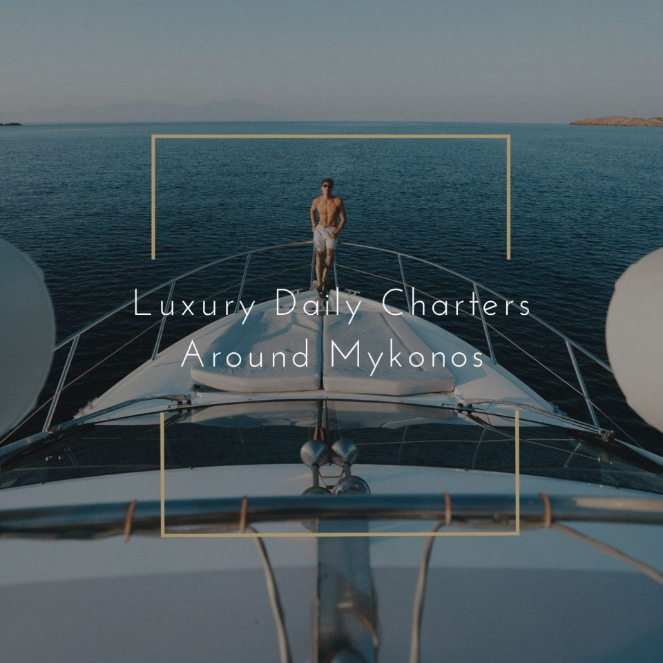 MYKONOS yacht daily charter