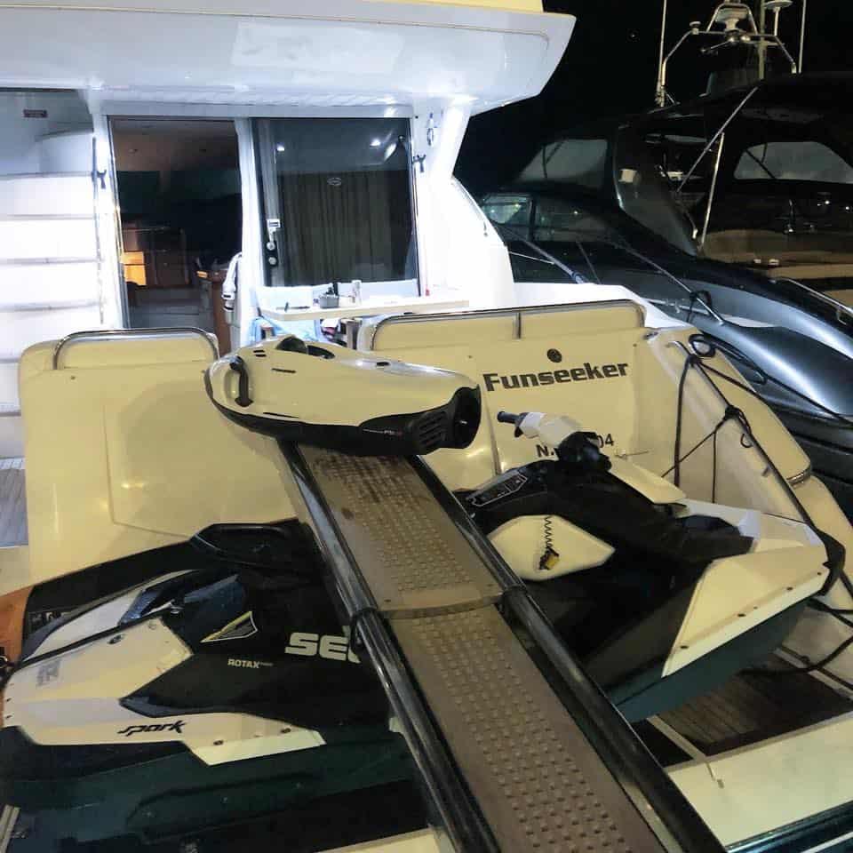 funseeker yacht platform