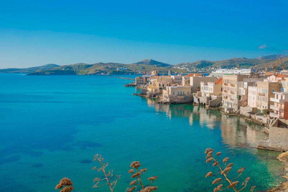 vaporia syros island boat trip